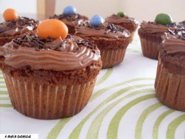 Mari Cocinillas - Como hacer cupcakes de chocolate paso a paso