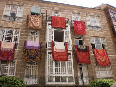 Mari Cocinillas - Fiestas de Primavera Murcia: Bando de la Huerta