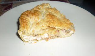 Mari Cocinillas - Pastel de pollo, champiñones y bacon