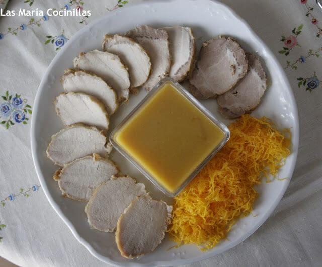 Mari Cocinillas - Lomo de cerdo  a la Naranja
