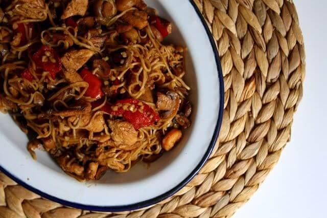 Mari Cocinillas - Noodles de Pollo