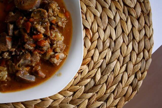 Mari Cocinillas - Osso bucco en salsa