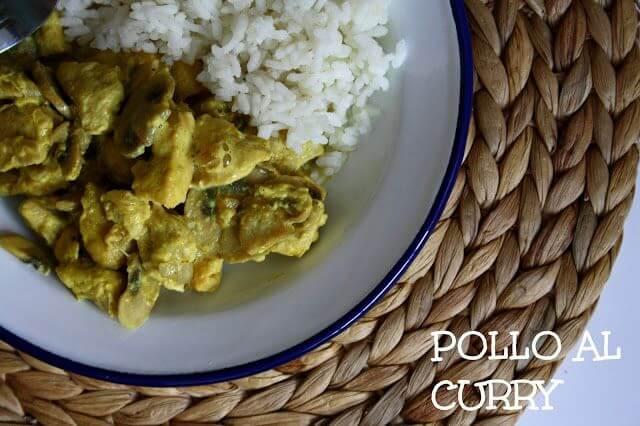 Mari Cocinillas - Pollo al Curry