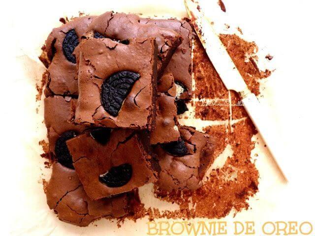 Mari Cocinillas - Brownie de Oreo