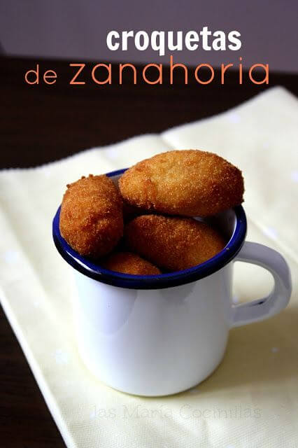 Mari Cocinillas - Croquetas de Zanahoria