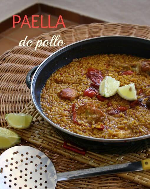Mari Cocinillas - Paella de Pollo