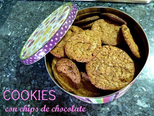 Mari Cocinillas - COOKIES – galletas con trocitos de chocolate
