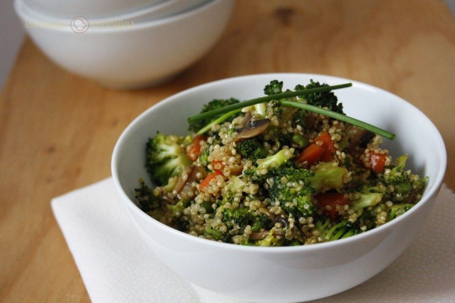 Mari Cocinillas - Ensalada Templada de Quinoa y Verduras