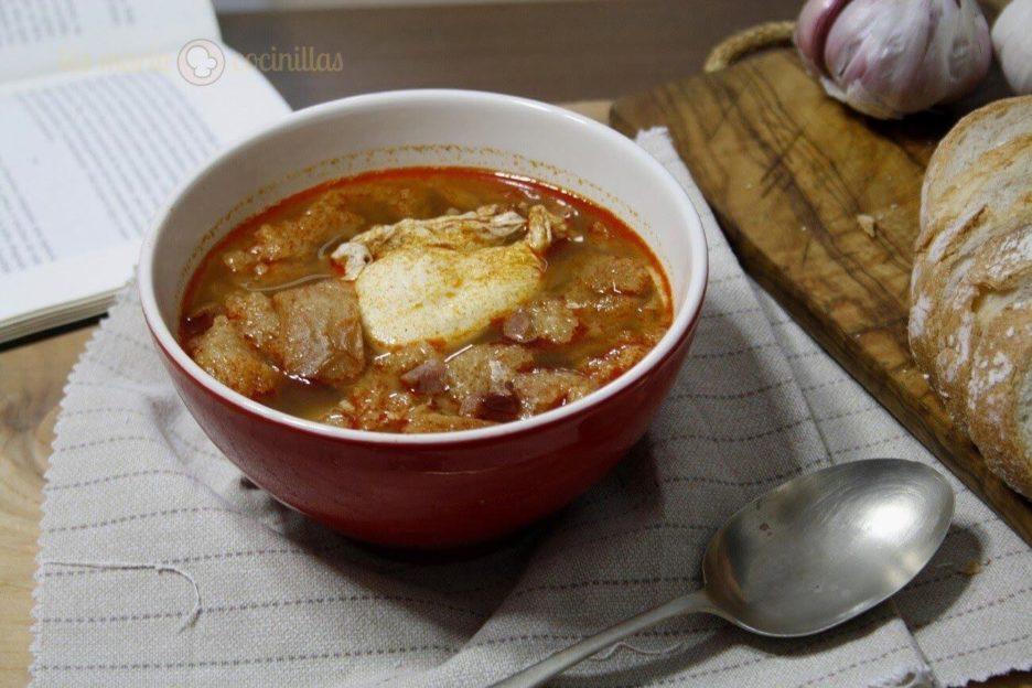 Mari Cocinillas - Sopa de Ajo