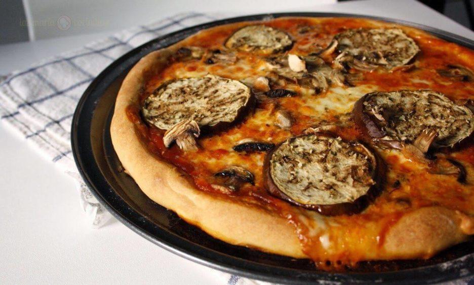 Mari Cocinillas - Pizza de Berenjena