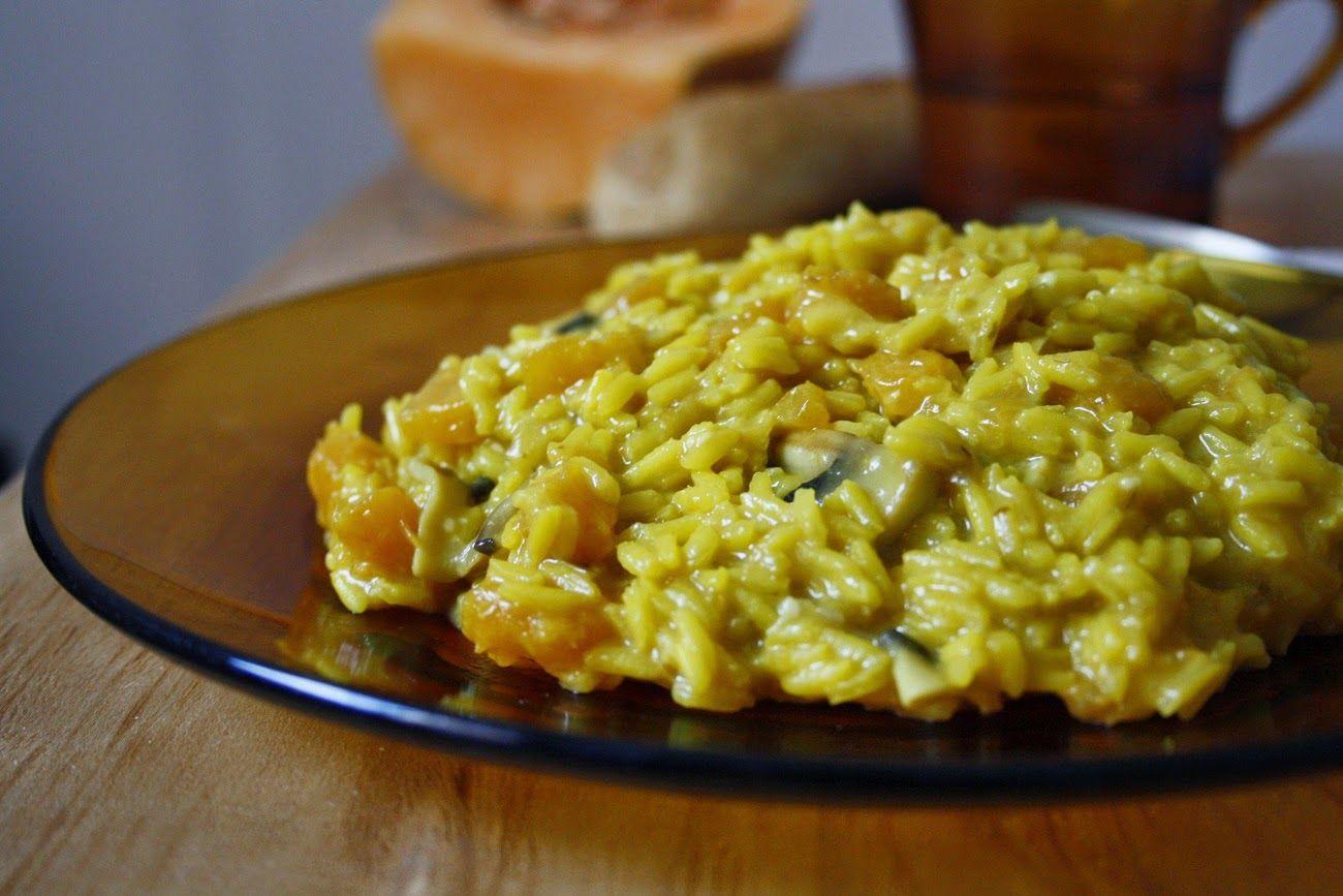 Risotto de Calabaza y Gorgonzola
