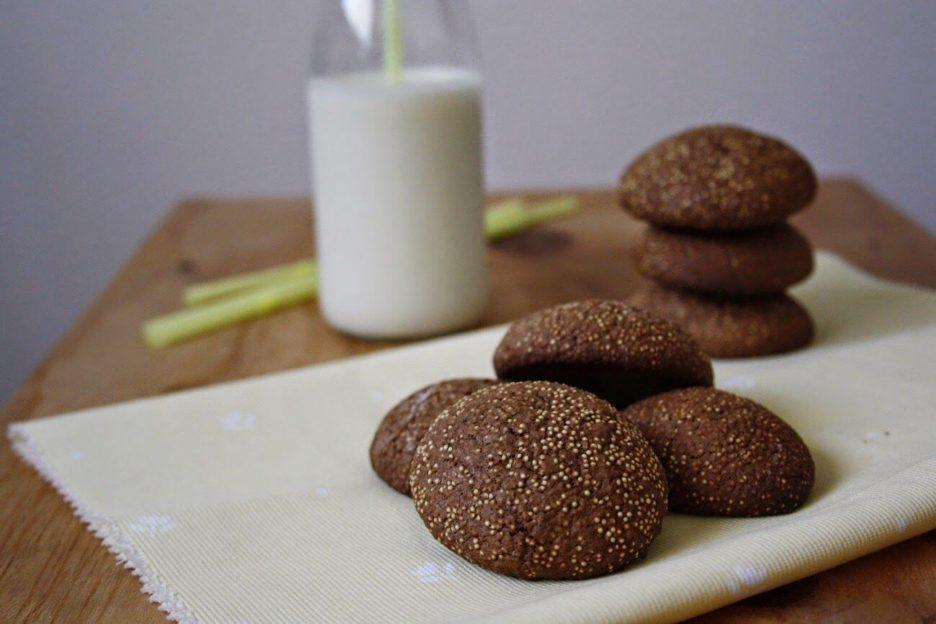 Mari Cocinillas - Galletas de cacao y amaranto