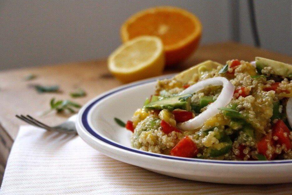 Mari Cocinillas - Ensalada de Quinoa, Mango y Aguacate