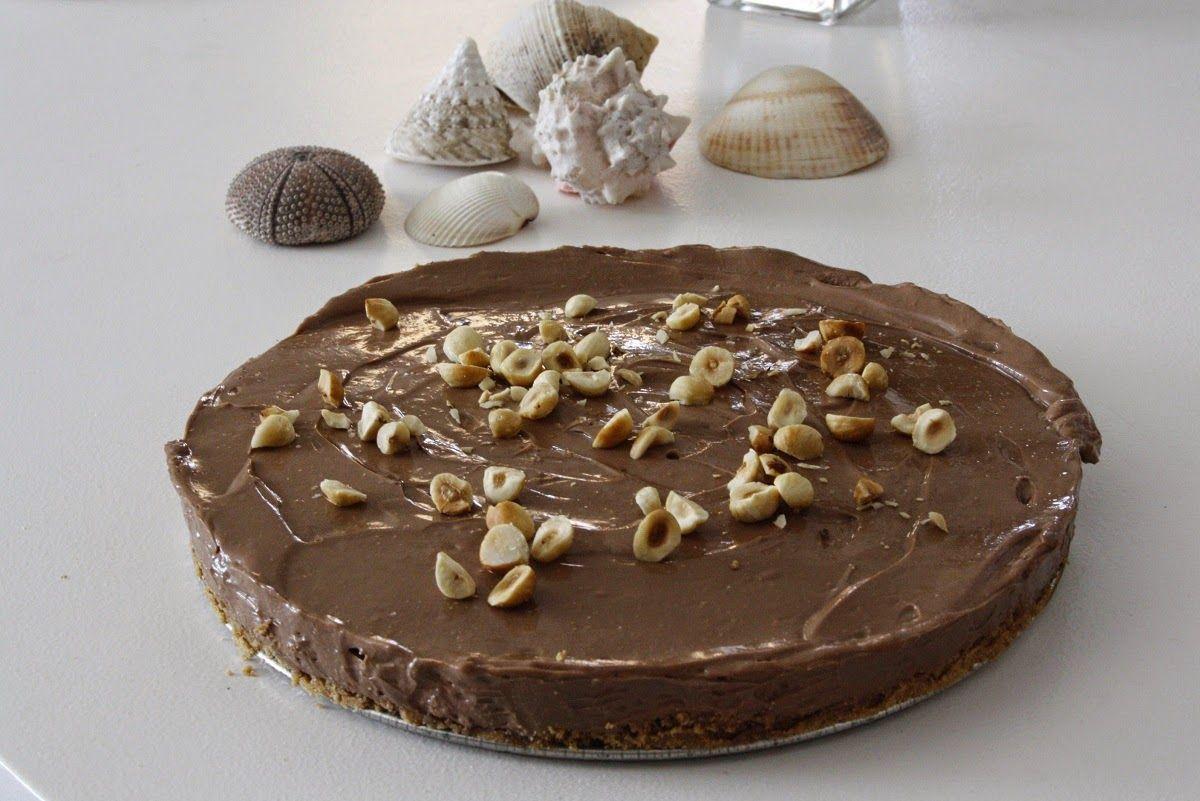Tarta de Queso y Nutella Fría (sin horno) – Nutella Cheesecake