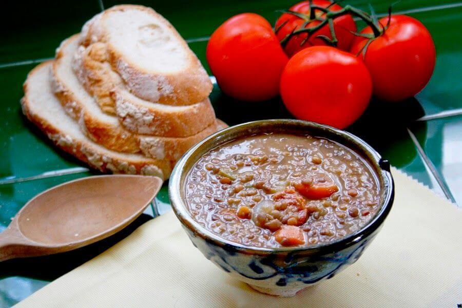 Mari Cocinillas - Lentejas Estofadas receta con Thermomix