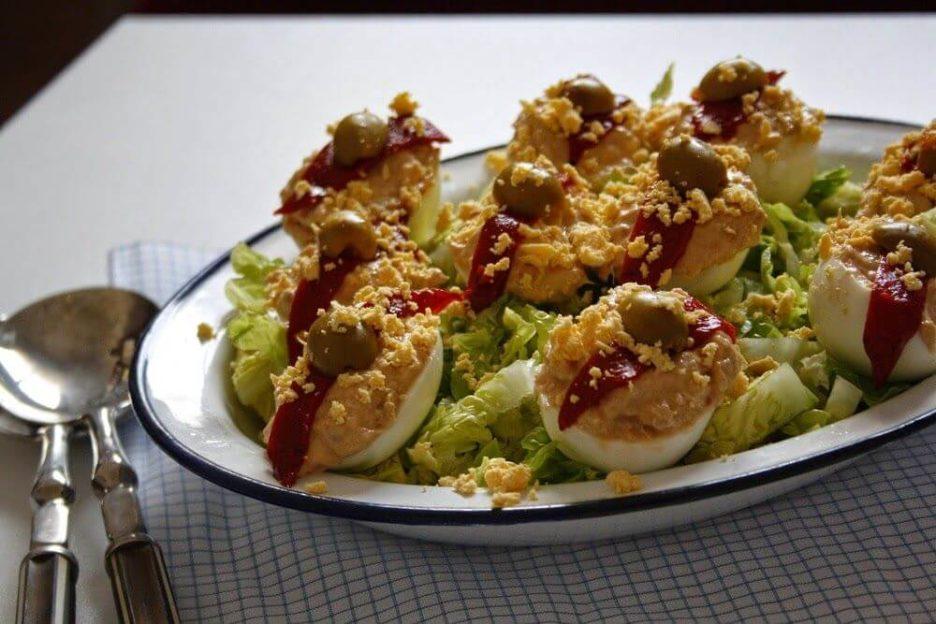 Mari Cocinillas - Receta de Huevos Rellenos