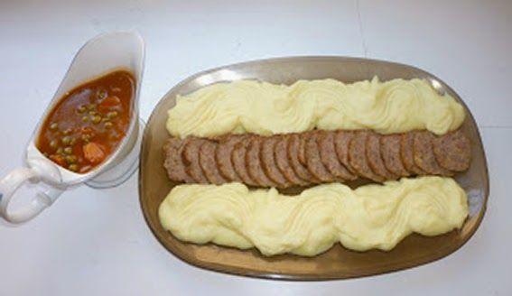 Mari Cocinillas - Redondo de carne picada con salsa
