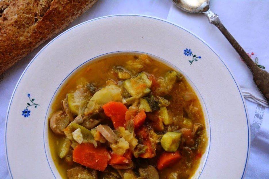 Mari Cocinillas - Potaje de Verduras Receta con Thermomix