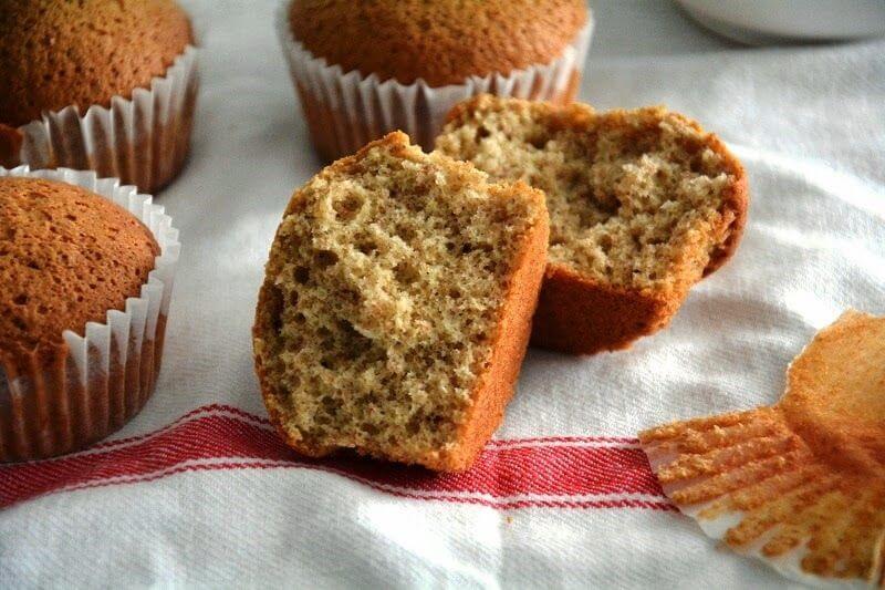 Mari Cocinillas - Magdalenas o Muffins Integrales, receta fácil y saludable