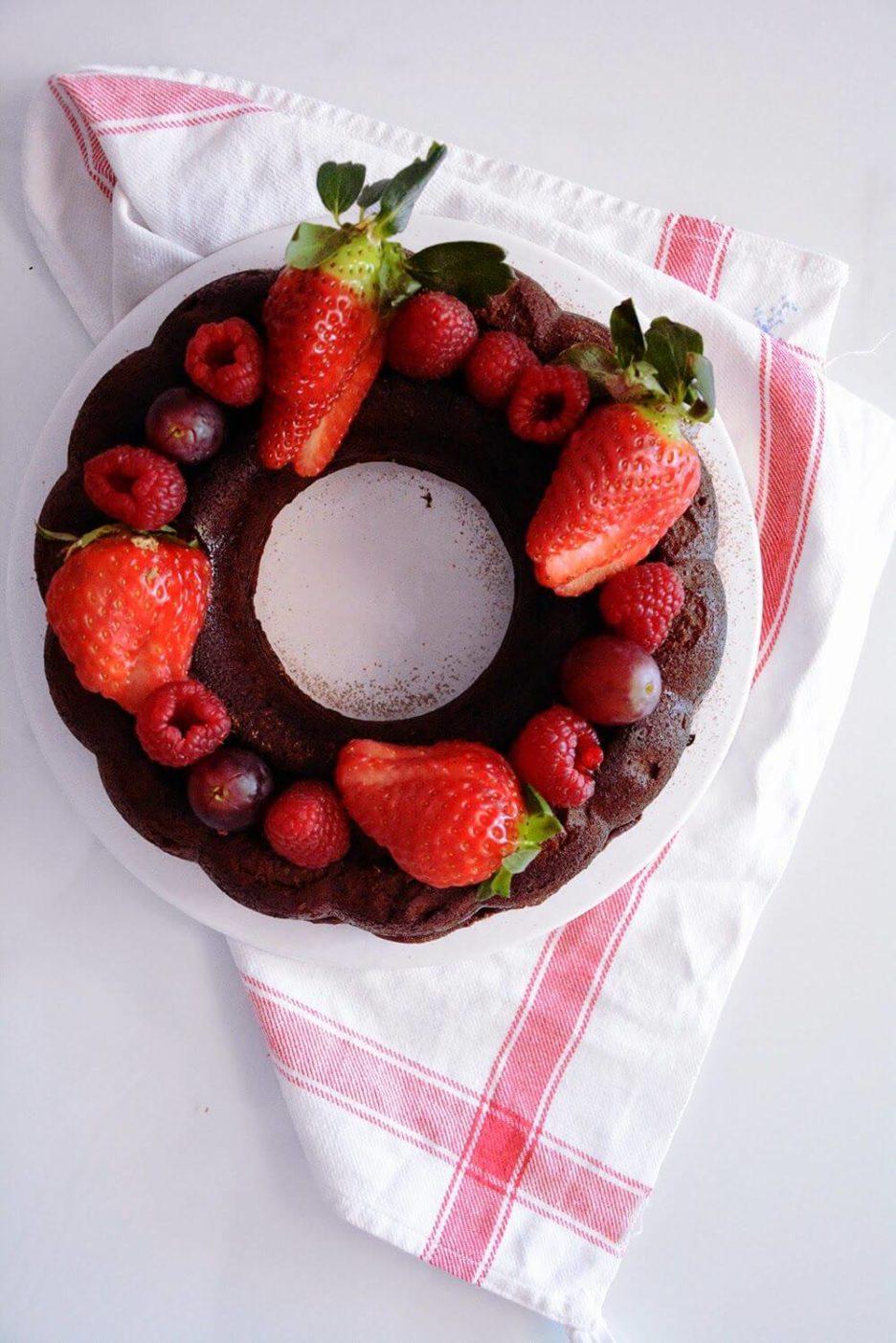 Mari Cocinillas - Cheseecake de chocolate receta fácil y rápida
