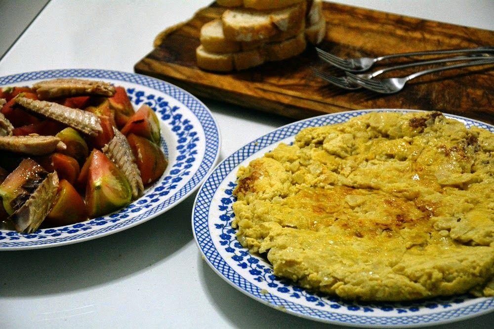 Tortilla de Cebolla, Receta con Thermomix