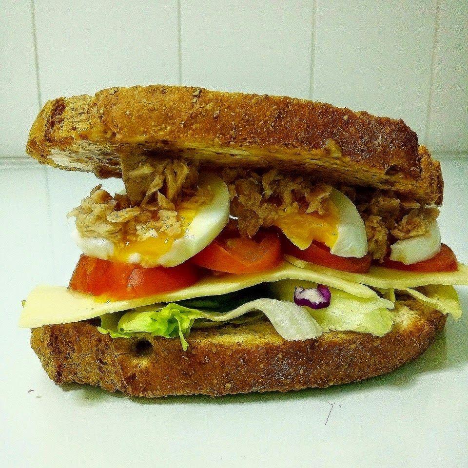 Cómo hacer un Sandwich Vegetal