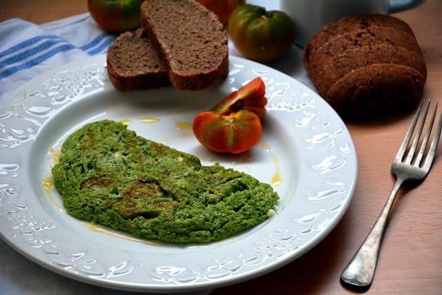 Mari Cocinillas - Tortilla de Pesto