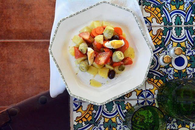 Mari Cocinillas - Ensalada de Patata y Alcachofas