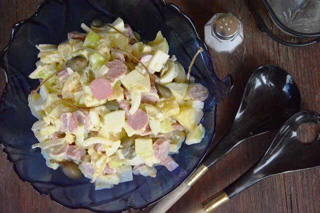 Mari Cocinillas - Ensalada Alemana de Salchicha y Patata