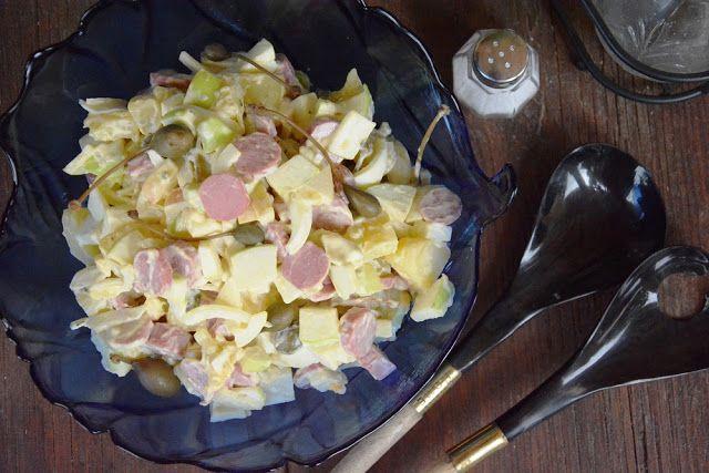 Ensalada Alemana de Salchicha y Patata