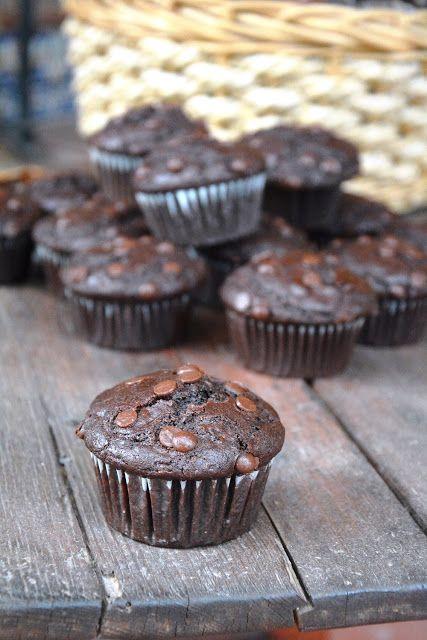 Muffins de Chocolate tipo Starbucks