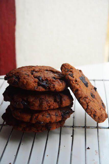 Mari Cocinillas - Cookies de calabaza y chocolate
