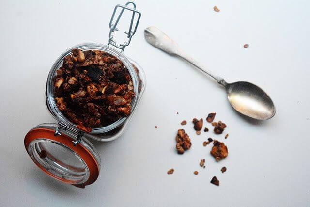 Mari Cocinillas - Cómo hacer granola de chocolate casera