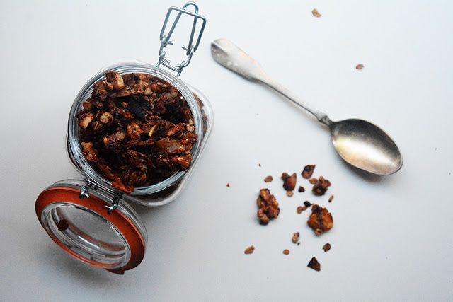 Cómo hacer granola de chocolate casera