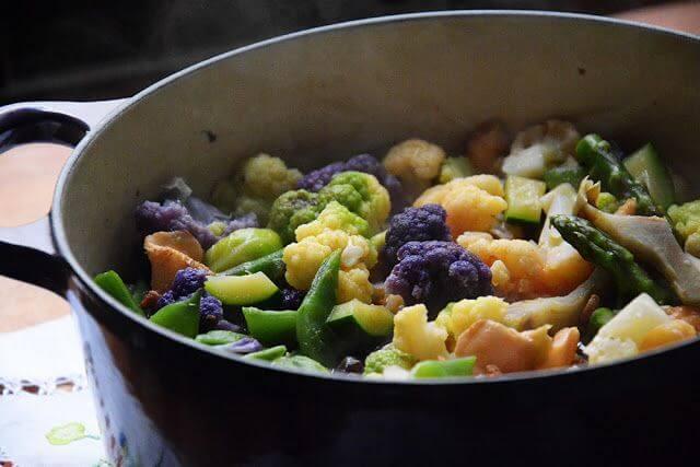 Mari Cocinillas - Cocotte de verduras