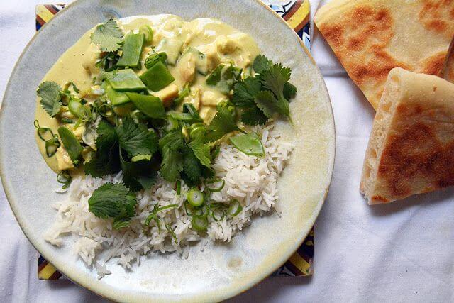 Mari Cocinillas - Curry de pollo
