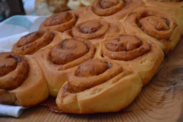 Mari Cocinillas - Cinnamon rolls