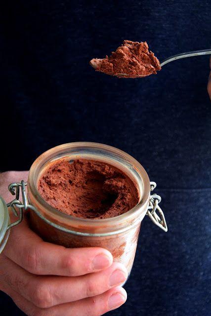 Mousse de chocolate fácil y rápida