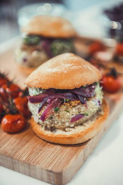 Mari Cocinillas - Hamburguesas de quinoa y verduras