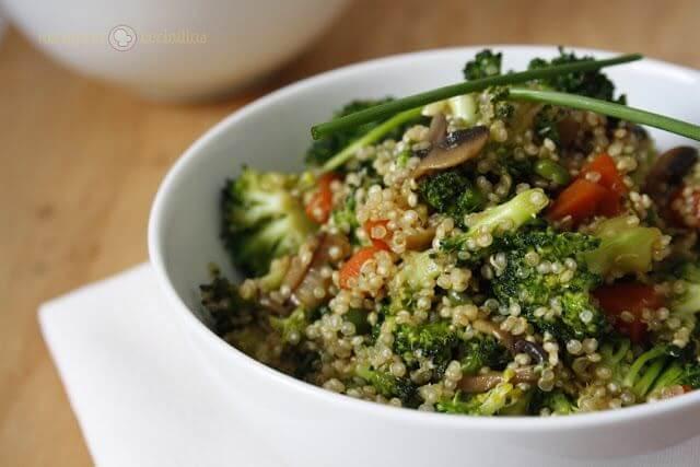 Mari Cocinillas - 5 Recetas fáciles y saludables para hacer con Quinoa éste verano