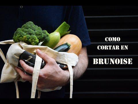 Mari Cocinillas - Cómo cortar en brunoise