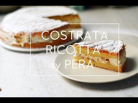 CROSTATA DE RICOTTA Y PERA | Las María Cocinillas