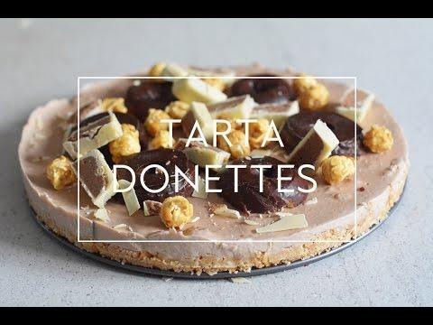 TARTA DE DONETES SIN HORNO | Las María Cocinillas