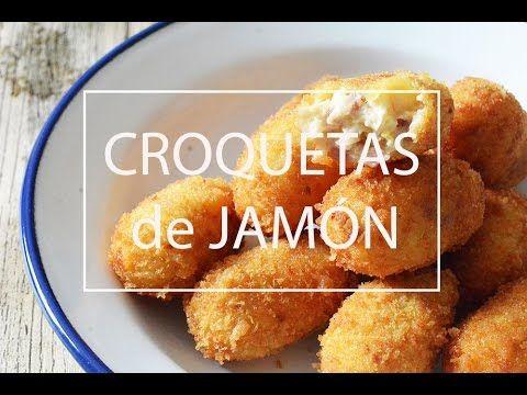 COMO HACER CROQUETAS DE JAMÓN CASERAS | Las María Cocinillas