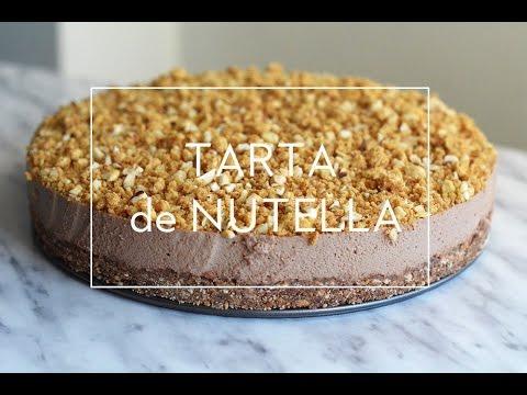 Mari Cocinillas - RECETA DE TARTA DE NUTELLA (SIN HORNO)   Las María Cocinillas