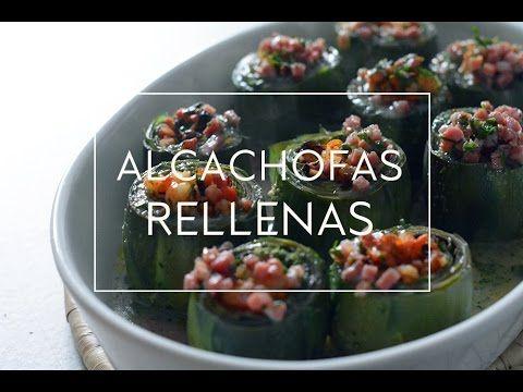 ALCACHOFAS RELLENAS DE JAMÓN Y GAMBAS | Las María Cocinillas
