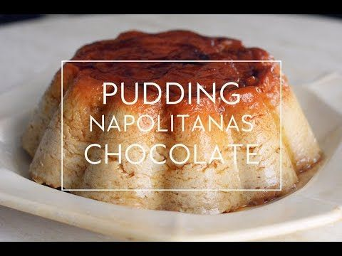 RECETA DE PUDIN DE NAPOLITANAS DE CHOCOLATE EN MICROONDAS  | Las María Cocinillas