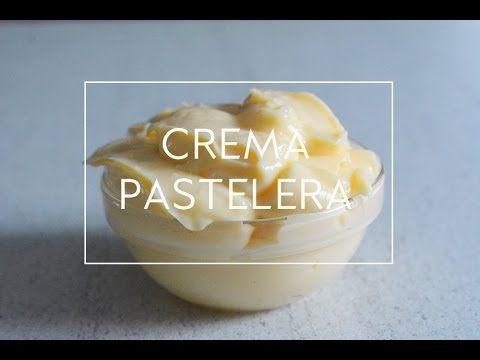 Como hacer crema pastelera en microondas. Receta fácil y rápida  | Las María Cocinillas