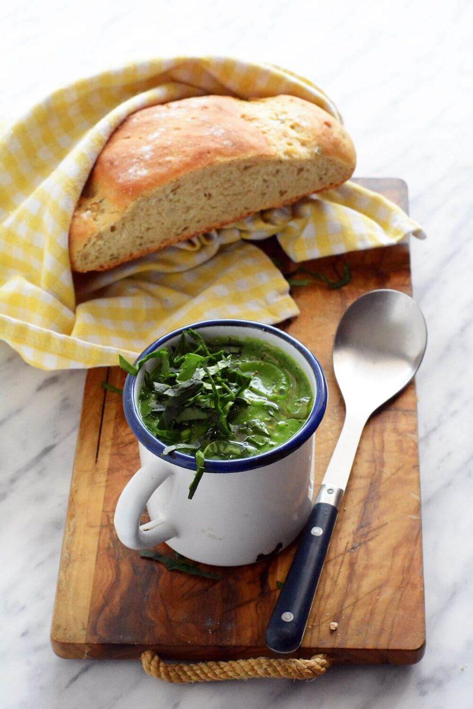 Mari Cocinillas - Crema de brocoli y espicanas