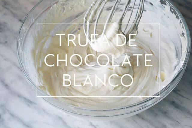 Mari Cocinillas - TRUFA DE CHOCOLATE BLANCO – ESPECIAL PARA RELLENOS Y TARTAS  | Las María Cocinillas